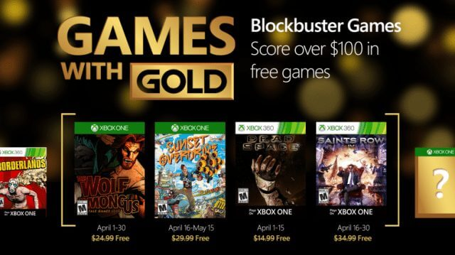 xbox games with gold april 2016 live abril 2016