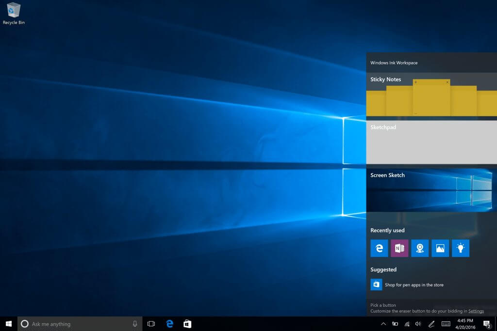 windows ink - Windows 10 Insider Preview é atualizado com novo Iniciar e Windows Ink