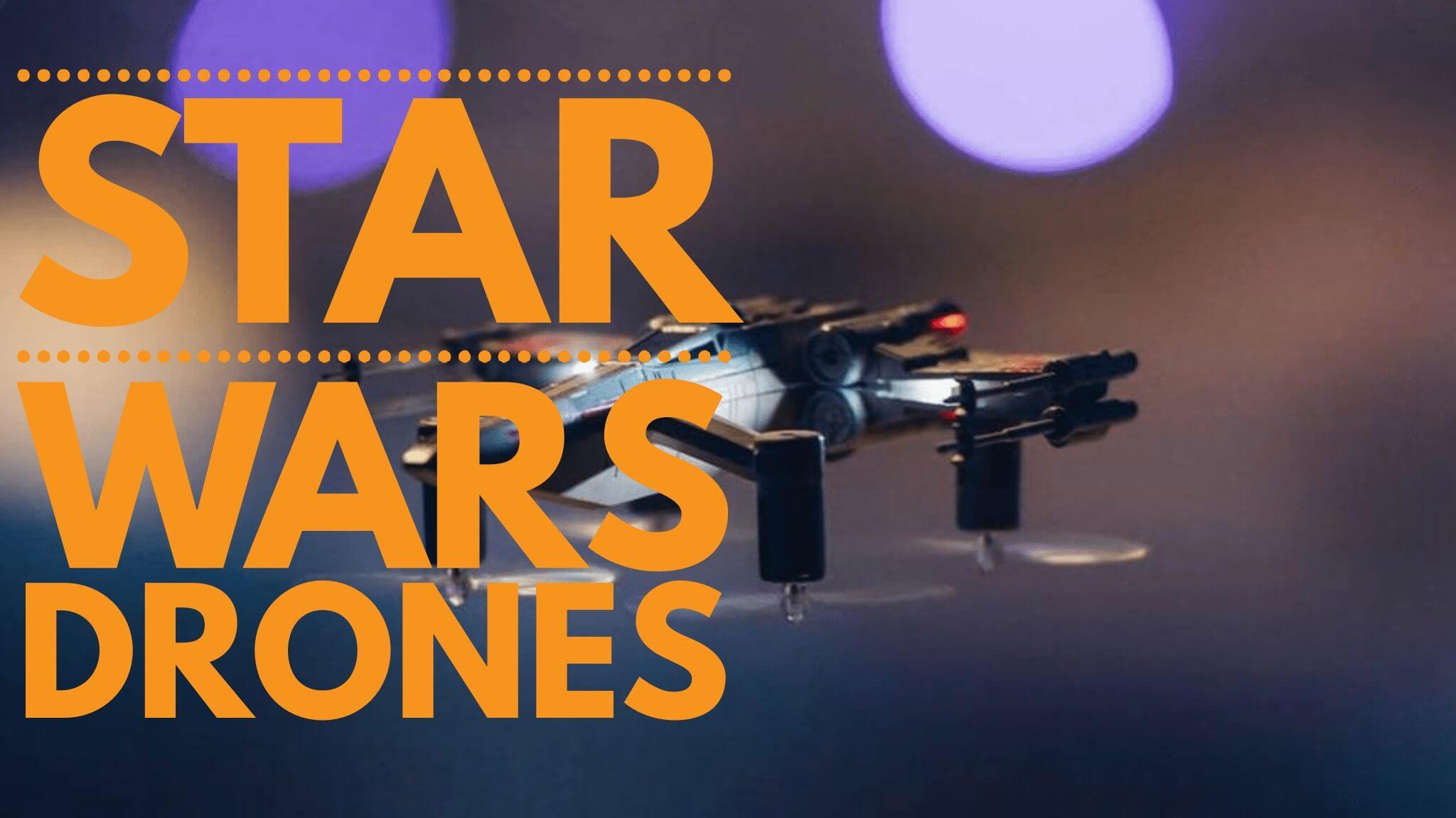 Pare tudo e veja esses Drones de STAR WARS