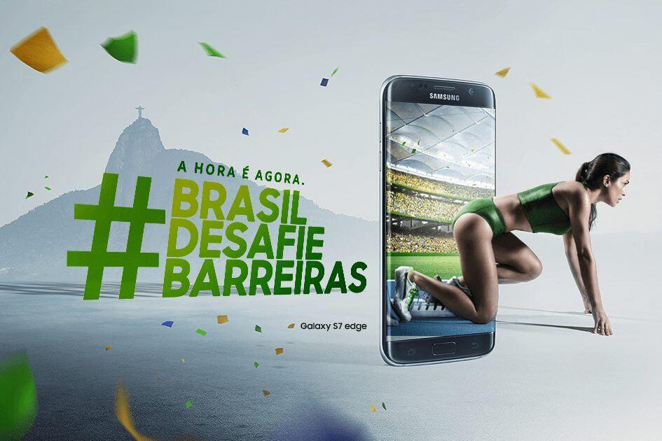 Promoção Samsung Desafie Barreiras fomenta Jogos Paralímpicos e sorteia 200 kits de produtos