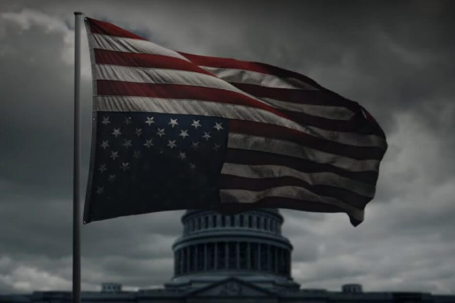 Netflix libera teaser da nova temporada do House of Cards...logo após a posse de Donald Trump