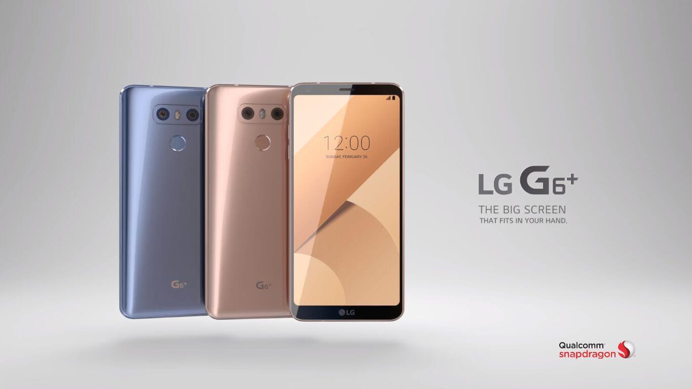 LG lança G6 Plus na Coreia do Sul; G6 'mini' chegará ainda neste mês