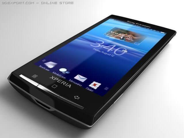 Sony ericsson xperia x3 rachael 1