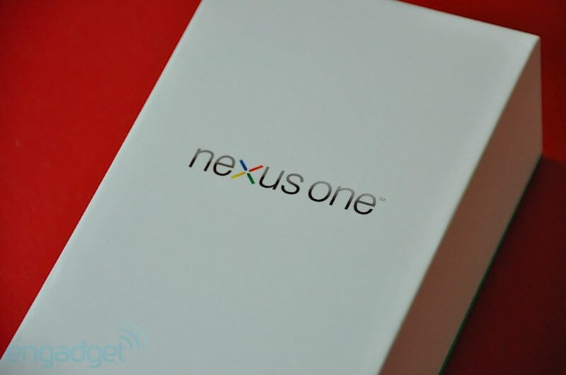 eng nexus one27 - Nexus One - Unboxing