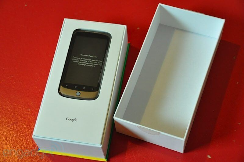 eng nexus one42 - Nexus One - Unboxing
