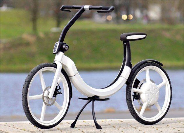 Volkswagen apresenta Bicicleta Elétrica
