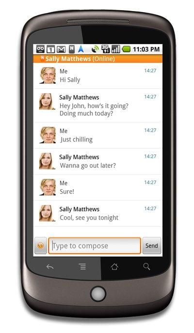 10 03 23 Novo Nimbuzz ara Andoid - Showmetech no Blog do Nimbuzz: SMS é coisa do passado!