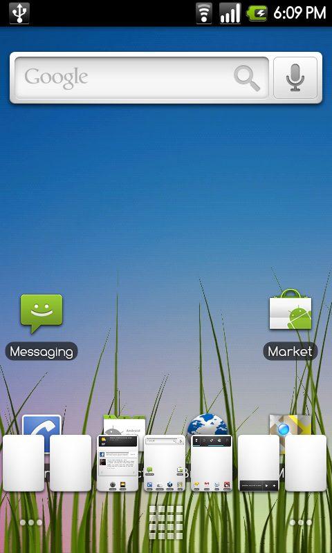 Cyanogen Mod 6.0.0 froyo 2.2