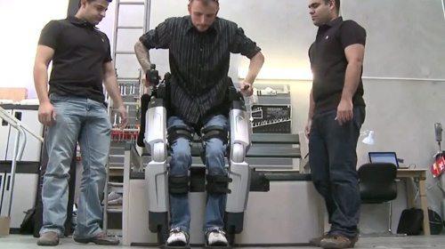 Rex: o exoesqueleto robótico