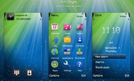TEMA: OVI Style para celulares Nokia