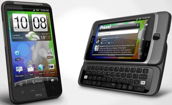 HTC Desire HD and HTC Desire Z2