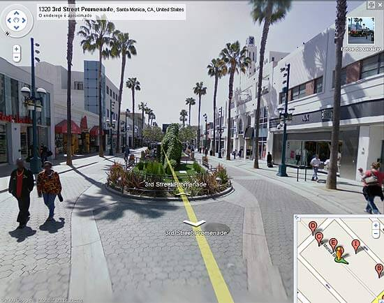 Google lança Street View para cidades Brasileiras