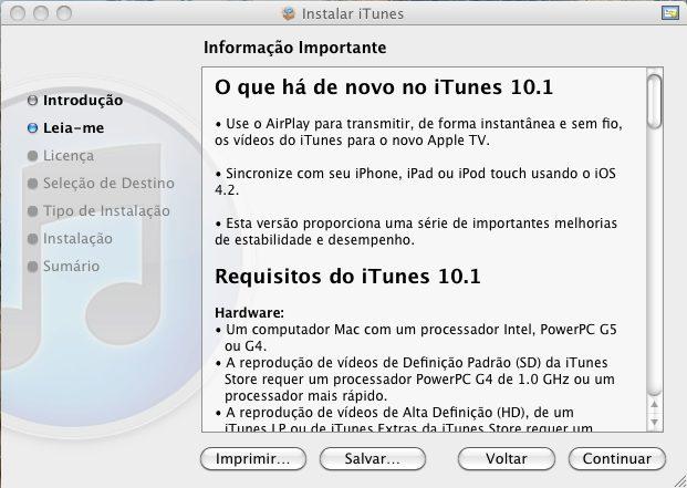 Captura de tela 2010 11 12 às 19.19.36 - iTunes 10.1 liberado pela Apple