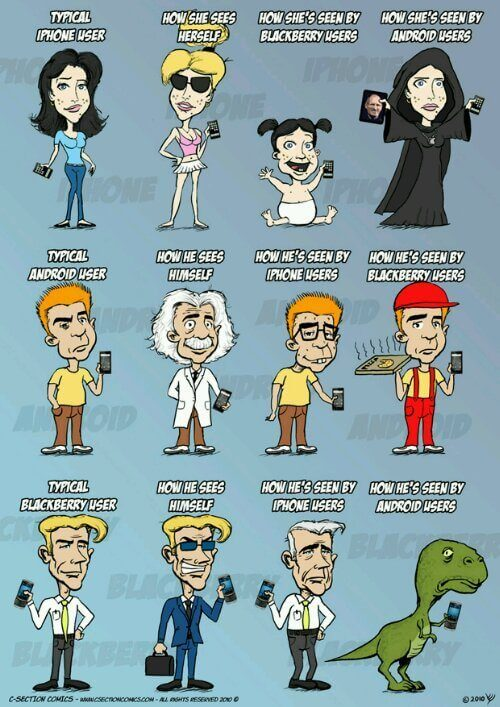 Wpid c section comics iphone vs android vs