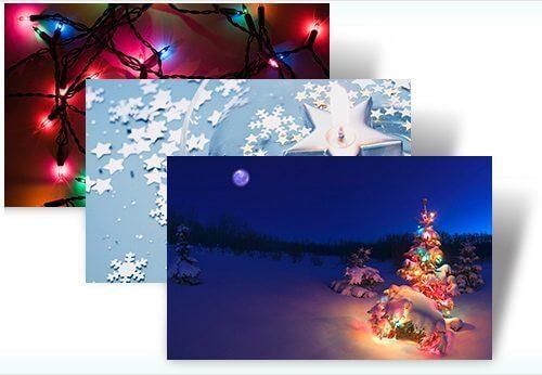 Natal windows 7 tema theme christmas