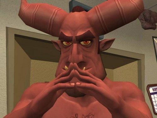 Satan lei 500x375