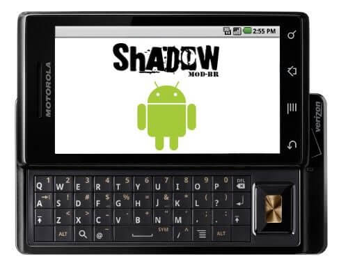 Milestone ShadowModBr - Download: ShadowMOD-BR v2.3.2b1 para o Motorola Milestone (Sim, é o Gingerbread!)