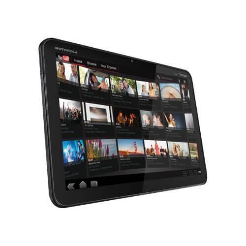 Motorola XOOM Angle View - CES 2011: Motorola apresenta o Xoom, seu tablet dual-core