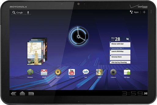 Motorola XOOM1 - CES 2011: Motorola apresenta o Xoom, seu tablet dual-core