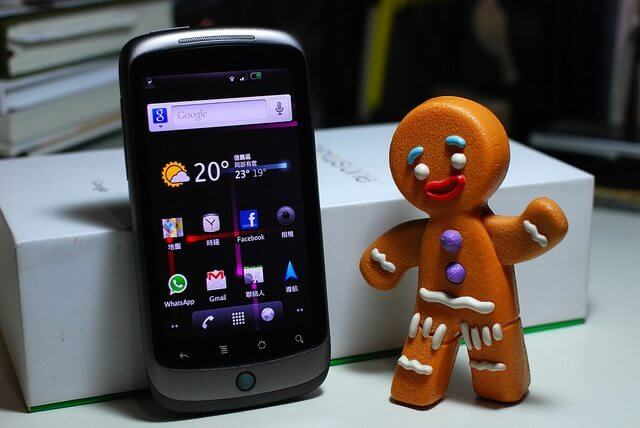 Nexus One Gingerbread