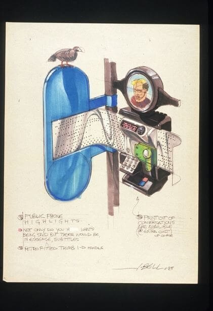 concept drawings back to the future 10 - IMAGENS: Back to the Future II Concept Art