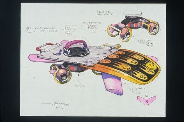 concept drawings back to the future 4 - IMAGENS: Back to the Future II Concept Art