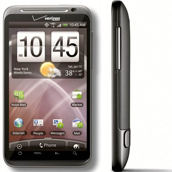 Htc thunderbolt front