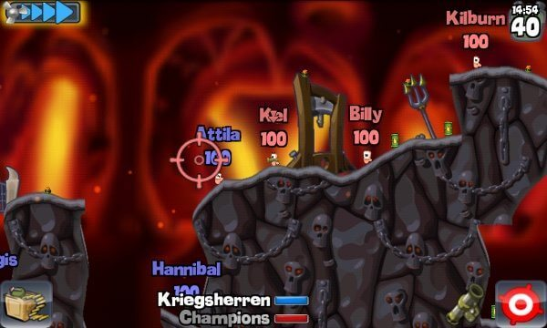wormspn - Games: Worms para Android