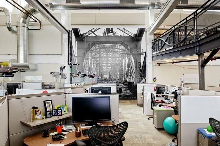 """Design: Google apresenta seu escritório """"Not-Evil"""" em Pittsburgh"""