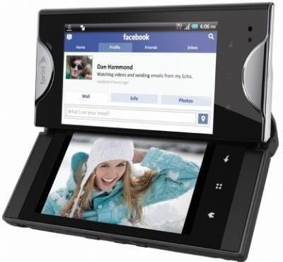 Kyocera Echo: duas telas em um único smartphone
