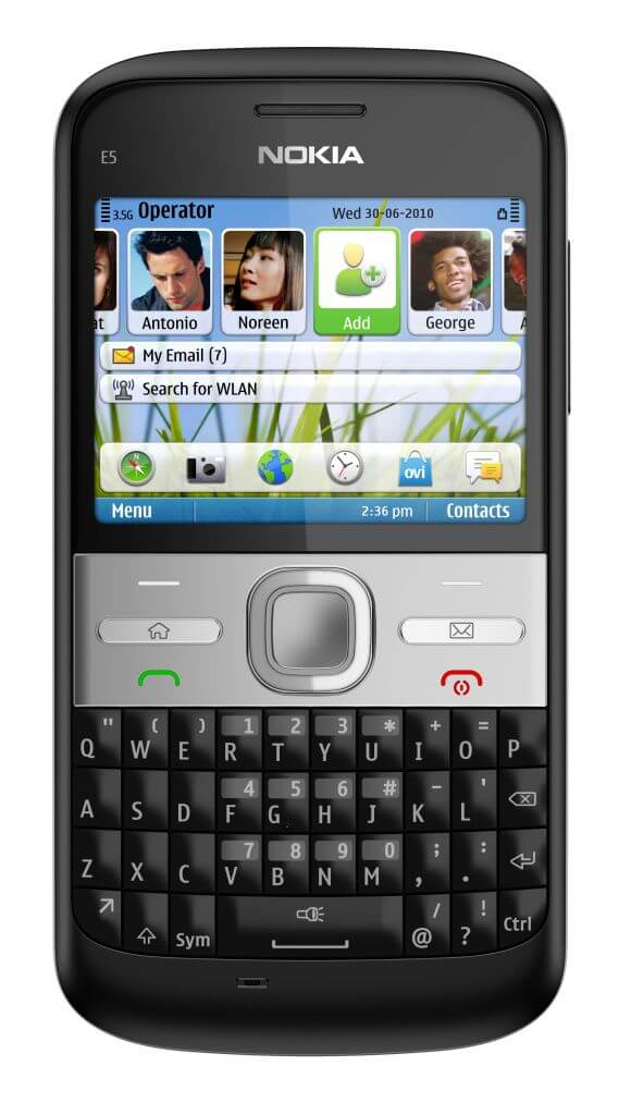 Nokia E5 chega ao Brasil por R$ 799 4
