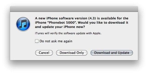 ios 43 03 09 2011 - iOS 4.3: liberado para atualização