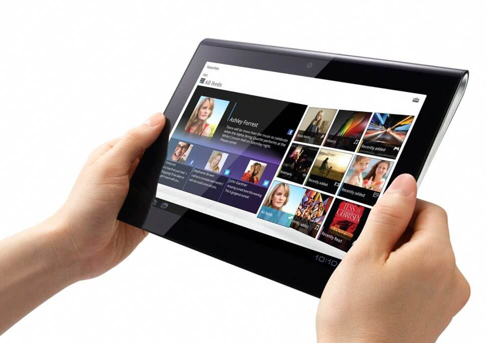 Sony Tablet S1 Lifestyle