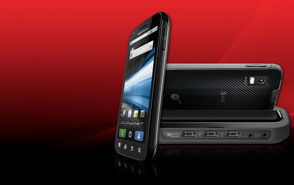 Review: Motorola Atrix (primeiras impressões)