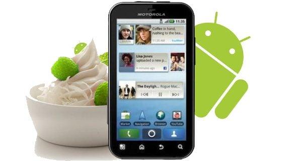 defy froyo1 - Motorola Defy recebe a atualização 2.2 Froyo (faça o download)