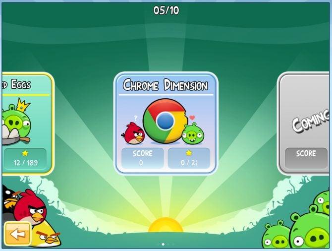 Angry Birds for Chrome screenshot 002 670x506 - Novo Angry Birds gratuito para o navegador Chrome