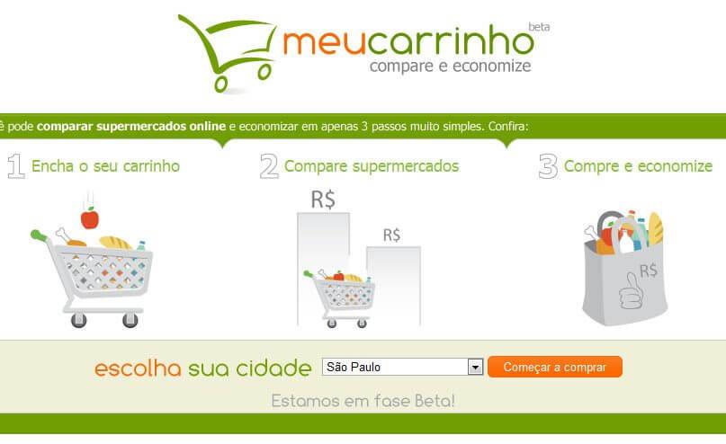 MeuCarrinho: O Buscapé dos Supermercados Online
