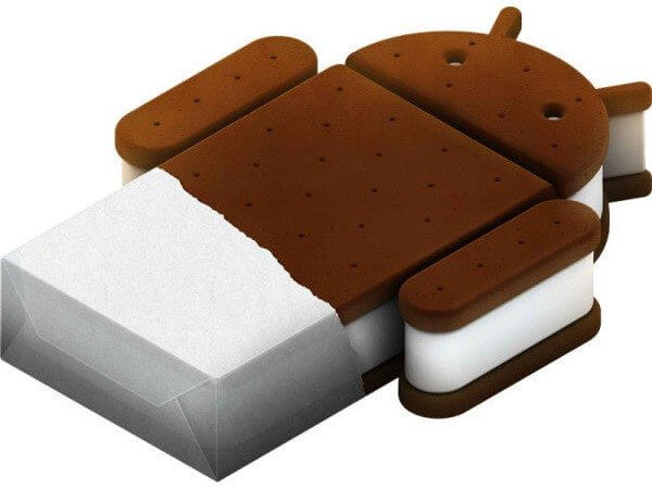 Ice cream sandwich android
