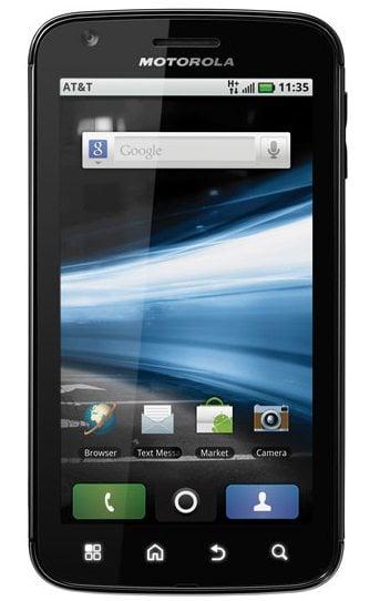 Motorola Atrix brasileiro recebe atualização 2.3 do Android