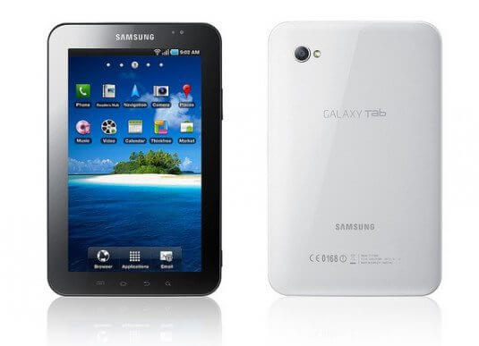 Samsung Galaxy Tab receberá atualização oficial para Gingerbread (2.3)