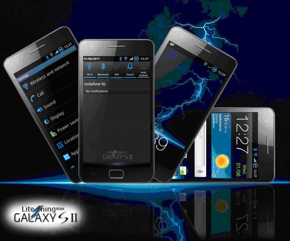 Lite'ning Rom v5.0 XXKG6: nova atualização para o Galaxy S II