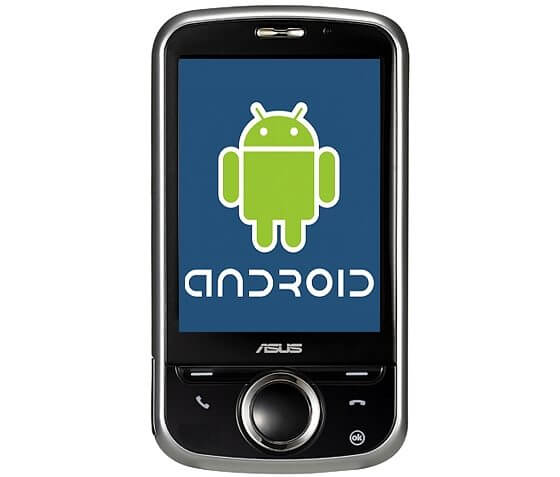 asus p320 android 2009