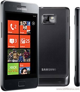 Sasmung windows phone 7 galaxy s ii
