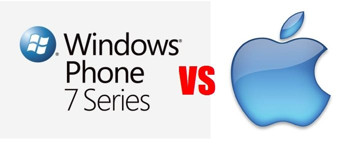 Windows phone mango vs ios apple iphone