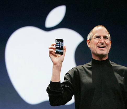 Wpid steve jobs with iphone