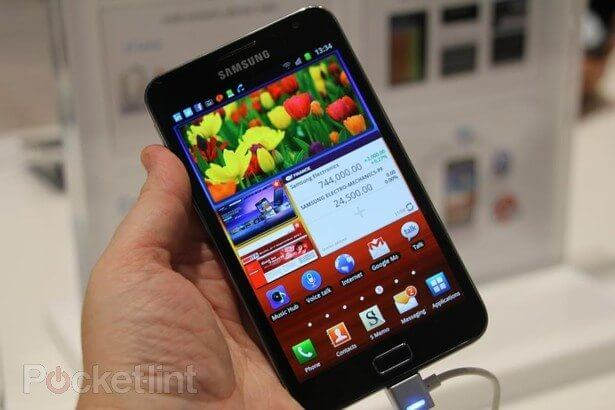 "Samsung Galaxy Note: fotos e ""hands-on"""
