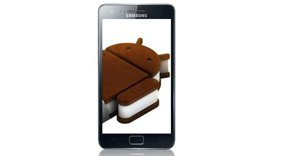 Samsung Galaxy SII ICS 4.0 Ice Cream Sandwich