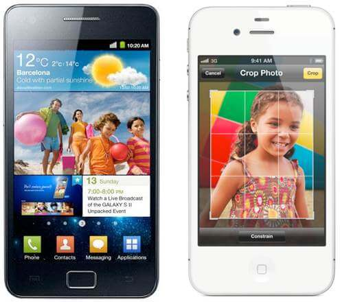 Comparativo: novo iPhone 4S vs. Samsung Galaxy SII