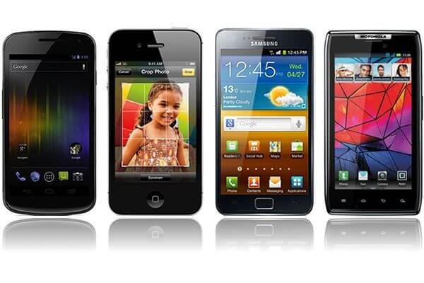 Comparativo: Galaxy Nexus x iPhone 4S x Galaxy S II HD LTE x Galaxy S II x Motorola Droid Razr x HTC Titan