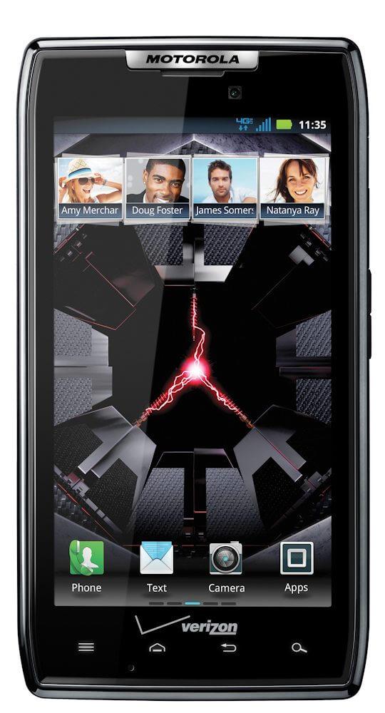 Motorola Droid RAZR: smartphone fino com Android 2.3